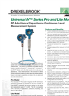 Universal - Model IV - RF Continuous Level Measurement Meter Brochure