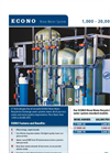 Model 10 GPM - Rinse Water Recycle DI System Brochure