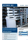 30,000-100,000 GPD Econo RO Water Systems Brochure