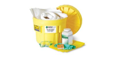 ENPAC - Model 1322-YE - 20 Gallon Overpack Salvage Drum Spill Kit - Oil Only