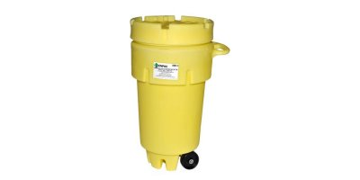 ENPAC - Model 1259-YE - 50 Gallon Wheeled Poly-Overpack Salvage Drum