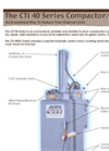 CTI In-Drum Compactors CTI8040- Brochure