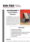AutoBlend - - Gas Standards Generator  Brochure