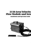 Teledyne Isco - Model 2150 - Area Velocity Flow Module and Sensor- Manual