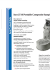 Teledyne Isco - Model 3710 - Portable Composite Sampler - Datasheet