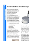 Teledyne Isco - Model 6712 - Full-Size Portable Sampler - Datasheet