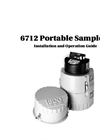 Teledyne Isco - Model 6712 - Full-Size Portable Sampler - User Manual