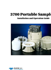 Teledyne Isco - Model 3700 - Full-Size Portable Sampler - User Manual