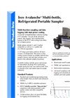 Isco Avalanche - Multi-Bottle, Multi-Function Sampler - Datasheet