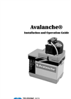 Isco Avalanche - Multi-Bottle, Multi-Function Sampler - User Manual
