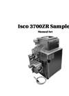 Teledyne Isco - Model 3700ZR - Refrigerated Sampler - User Manual