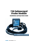 Teledyne Isco - Model 720 - Submerged Probe Flow Module - User Manual