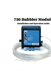Teledyne Isco - Model 730 - Bubbler Flow Module - User Manual