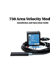 Teledyne Isco - Model 750 - Area Velocity Flow Module - User Manual