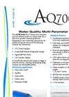 Teledyne Isco - Model AQ700 - Water Quality Multi-Parameter Sonde - Datasheet