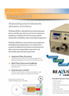 ReaXus - Model 6010R - Reciprocating Pump for Laboratories - Datasheet