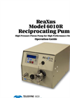 ReaXus - Model 6010R - Reciprocating Pump - User Manual
