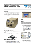 Updating Firmware for the ReaXus Reciprocating Pump - Applications Note