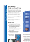 Isco ProPak - Single-Use Sample Bags - Datasheet