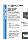 Teledyne Isco - Model 6700 Series - GSM Cellular Modem for Samplers - Datasheet