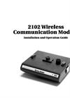 Teledyne Isco - Model 2102 - Wireless Communication Module - User Manual
