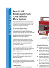 Teledyne Isco - Model 2151P - Intrinsically Safe, Permanent Flow System - Datasheet