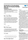 Introduction to Functionalized Silica Gel and Alumina RediSep® Columns Chromatography Application Note AN08