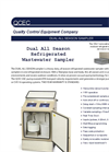 QCEC Model Dual All Season Vacuum Sampler - Datasheet