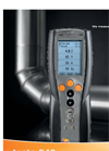 Testo - Model 340 4 - Portable Gas Combustion Analyzer  Brochure