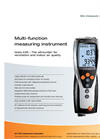Testo 435-2 - Multi-Function Measuring Instrument with Measurement Value Store Brochure