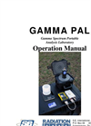 Model GammaPAL - Portable Radiation Analyzer Brochure