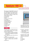 AquaLynx - Model 400 LX - Monitoring and Control System- Brochure