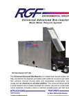 UAB-20 & UAB-40 - Universal Advanced Bioreactor Treatment System - Brochure