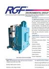 RGF - Model TO Series - Thermo Oxidizers - Dry Chamber Flash Evaporation System - Brochure