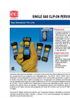 Model 03 Series - Single Gas Personal Monitors Brochure