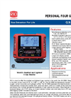 Model GX-2009 - Smallest Four Gas Confined Space Monitor- Brochure