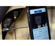Smartphone app improves vibration testing setup at Faurecia