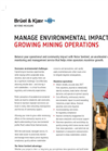 Noise Sentinel for Mining Brochure