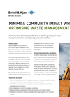 Noise Sentinel for Waste Management Brochure