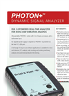 Model Type PHOTON+ - Dynamic Signal Analyzer Datasheet