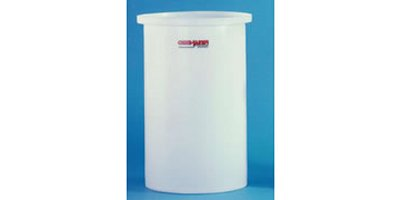 Model 7 Gallon - Open Top Flat Bottom Cylindrical Tanks