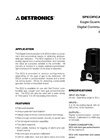EQ2200DCU/EQ2200DCUEX Digital Communication Unit - Specification Brochure