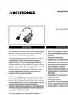 Catalytic Combustible Gas (CGS) Detector - Specification Brochure