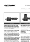 Mining IR (MIR) Fixed Methane Gas Detector - Specification Brochure
