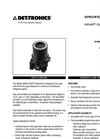U9500 Infiniti Gas Transmitter - Specification Brochure