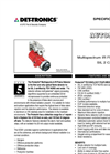 X3301 Protect·ir Multispectrum IR Flame Detector - SL2 Certified Brochure