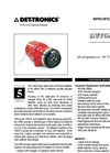 X3302 Multispectrum IR Hydrogen Flame Detector - Specification Brochure