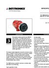 X9800 IR Flame Detector - Specification Brochure