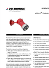 xWatch Camera + X-Series Flame Detector - Specification Brochure