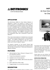 Air Duct Smoke Detector For Classified Areas U5006 Instructions Manual